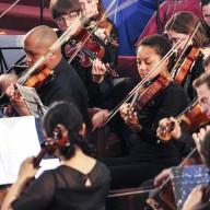 Scenes From the Performance of Mozart's Requiem in D Minor