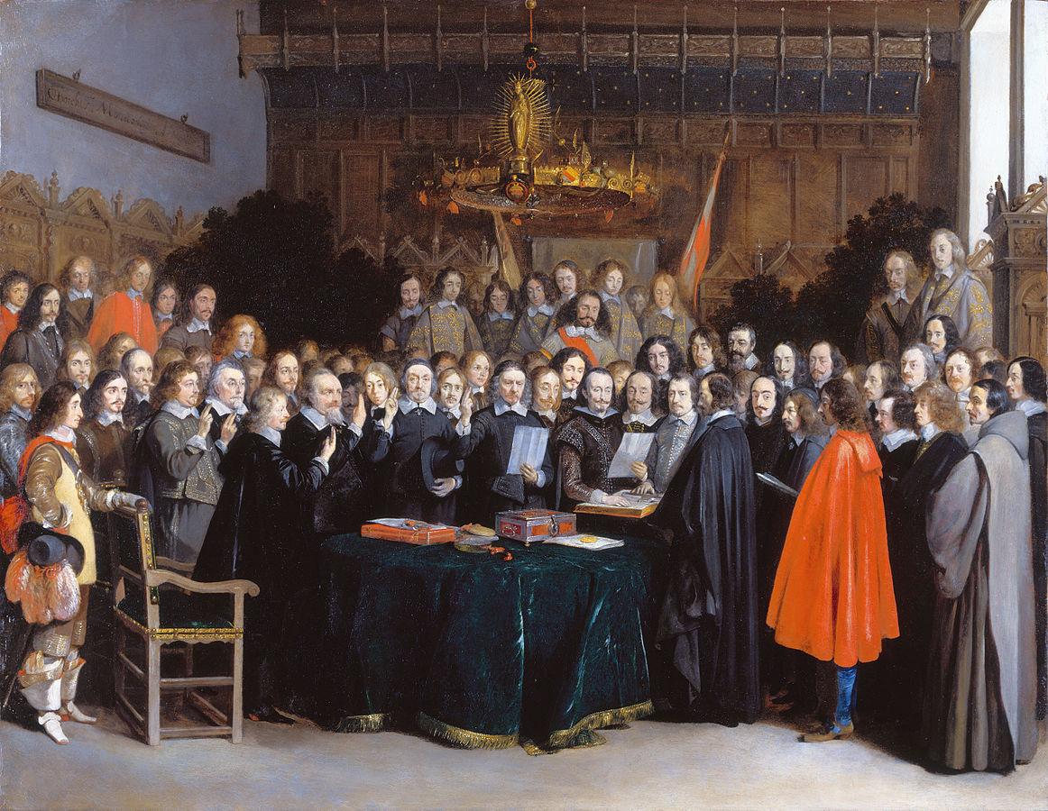 1162px-Westfaelischer_Friede_in_Muenster_(Gerard_Terborch_1648)