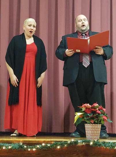 Ana Maria Ugarte and Brian Landry.