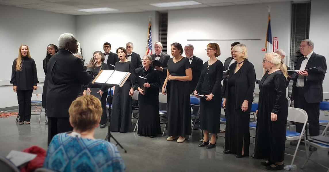 The Houston Schiller Institute Community Chorus.