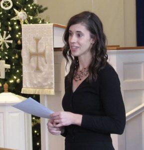 Virginia Schiller Institute Choral Director, Megan Beets