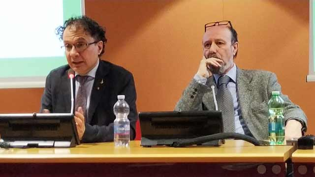 Undersecretary of the Task Force China in the Italian government, Michele Geraci and EIR's Claudio Celani.
