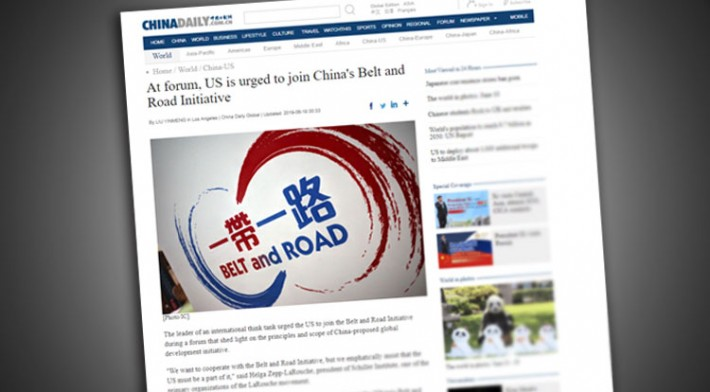 New Silk Road / BRI updates | The Schiller Institute