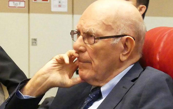 The late American economist, Lyndon H. LaRouche, JR. , 2018