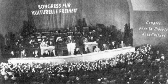 The first Congress for Cultural Freedom convention, Berlin, 1950.